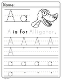 Animal trace letters (full)