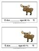 Animal verbs WORKBOOK! 3rd person sing/plural: Spanish, English, ESL, bilingual