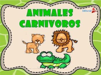Animales Carnívoros, Herbívoros y Omnívoros by Editorial ...