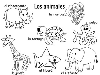 Animales Describing animals