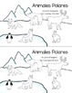 Animales Polares *Write the Room & Other Activities in Spanish*