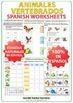 Animales Vertebrados - Spanish Worksheets