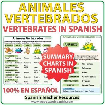 Animales Vertebrados - Vertebrates in Spanish