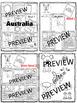 Animales de AUSTRALIA  Australian animals Reading Writ QRCodes ResearchText Art