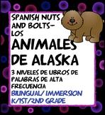 Animales de Alaska: libretas, lectura, escritura, juegos interactivos, BUNDLE
