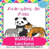 Animales de Asia Comprension Lectura BUNDLE - Asian animal