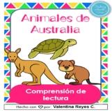 Animales de Australia Comprensión Lectura - Australian Ani