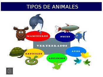 Animales de España powerpoint