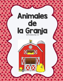 Animales de la Granja Flash Cards and Interactive Notebook