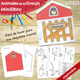 Animales de la Granja Minilibro - Farm Animals Minibook in