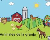 Animales de la granja for young kids