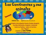 Animales de los continentes Bilingual Stars Mrs PartidaS