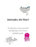 Animales del Mar: Spanish Ocean Animals