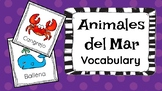 Animales del Mar Vocabulary