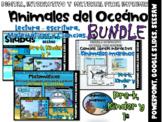 Animales del Oceáno ⏺Actividades de lectura-escritura, Matemáticas y Ciencias.
