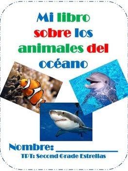 Animales del oceano- Ocean Animals SPANISH