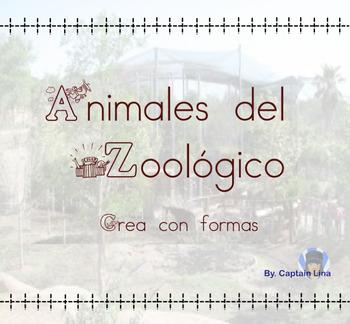 Animales del zoológico con formas