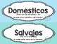 Animales domésticos y salvajes/Domestic or Wild Animals (SPANISH)
