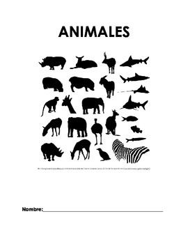 Animales en español / Animals in Spanish