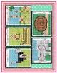 Animales en tablas de números del 1-120 Grados 1-2