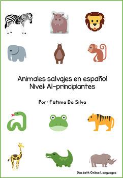 Animales salvajes en español - Wild animals in Spanish
