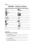 Animales y Ambiente - Exam / Animals and the Environment exam