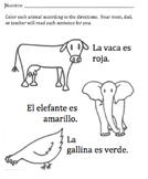 Animales y Colores