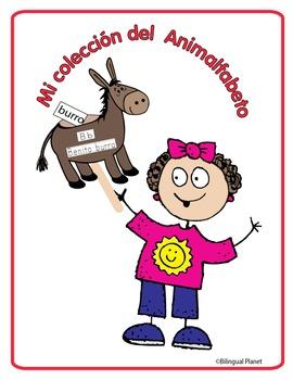 Animalfabeto reproducible (puppets) Spanish