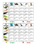 Animali (Animals in Italian) Grid vocabulary activity