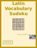 Animalia (Animals in Latin) Sudoku