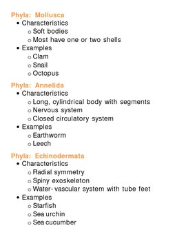 Animalia (Animal) Kingdom Unit Vocabulary Lesson Plan