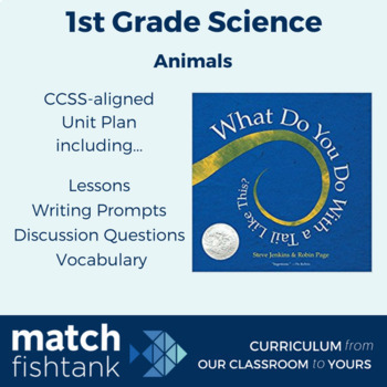 Animals | 1st Grade Science | Unit | Lessons
