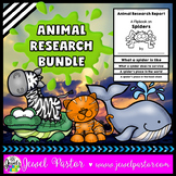 Animal Research Report Flipbooks BUNDLE