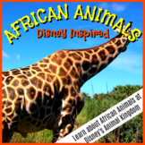 Disney-inspired: African Animals