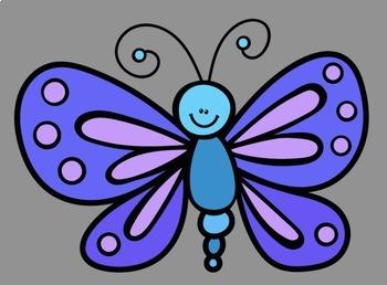 Animals 5 Mini-Sets BUNDLE Clip Art (100 graphics) Whimsy Workshop Teaching