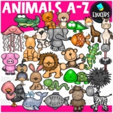 Animals A-Z Clip Art Bundle {Educlips Clipart}