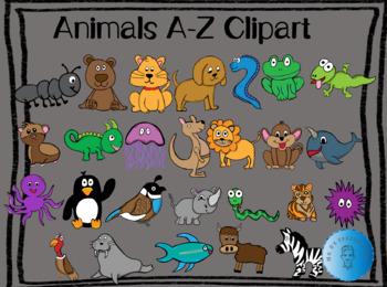 Animals A-Z Clipart