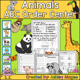 Animals ABC Order Center/Station with differentiation options