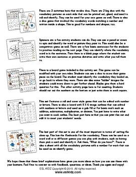 Animals Activity Set / Worksheets + Flashcards