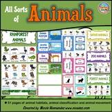 Animal Characteristics Sort (by Habitat, Movement and More!)