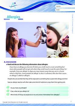 Animals - Allergies - Grade 10