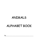 Animals Alphabet Book Template