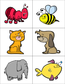Alphabet Memory (Animals)