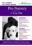 Animals - Animal Colours : Letter V : Vase - Pre-Nursery (1 year old)