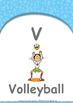 Animals - Animal Habitat : Letter V : Volleyball - Nursery (2 years old)