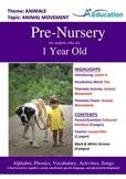 Animals - Animal Movement : Letter X : Fox - Pre-Nursery (1 year old)