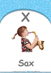 Animals - Animal Movement : Letter X : Sax - Nursery (2 years old)