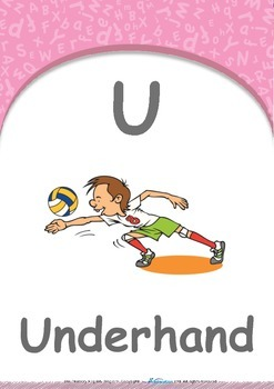 Animals - Animal Sounds : Letter U : Underhand - Pre-Nursery (1 year old)