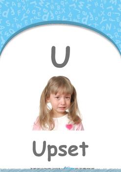 Animals - Animal Sounds: Letter U : Upset - Nursery (2 years old)