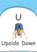 Animals - Animal Sounds : Letter U : Upside Down - Nursery (2 years old)